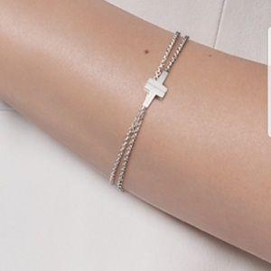 21356be60 Tiffany & Co. Jewelry | Tiffany T Two Double Chain Bracelet | Poshmark